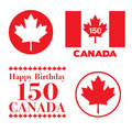Canada Day 150 graphics