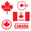 Canada day graphics