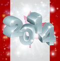 Canada flag of background new year or similar concept Royalty Free Stock Image