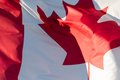 Canada flag Royalty Free Stock Photo