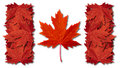 Canada Leaf Flag Royalty Free Stock Photo