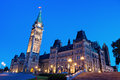 Canada Parliament Building in Ottawa Royalty Free Stock Photo