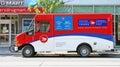 Canada Post Vehicle Royalty Free Stock Photo