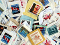 Canada postage stamps Royalty Free Stock Image