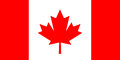 Canada vector flag Royalty Free Stock Photo