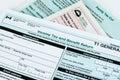 Canadian individual tax form