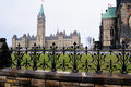 Canadian Parliament Royalty Free Stock Photo
