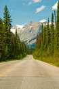 Canadian Road Royalty Free Stock Photos