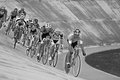 Canadian s team race bromont august unknown athlete members of the on national track championships on august in bromont Royalty Free Stock Images