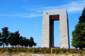 Canakkale monument of of first world war Royalty Free Stock Photography