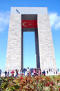 Canakkale monument of of first world war Royalty Free Stock Images