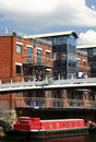 Canal Apartments, Leeds Royalty Free Stock Photo