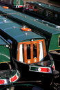 Canal barges 1 Royalty Free Stock Photo