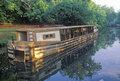 Canal Boat, Great Falls, Maryland Royalty Free Stock Photo