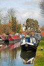 Canal boats Royalty Free Stock Image
