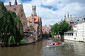Canal of Bruges, Belgium Stock Photo