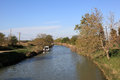 Canal du Midi, France Royalty Free Stock Photos