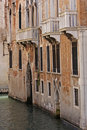 Canal facade, Venice Stock Photos