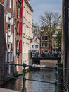 Canal houses in amsterdam netherlands sept along a small sluice the centre of many were built for the aristocracy more Stock Images