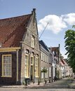 Canal houses in a Dutch town