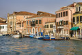Canal in Murano, Venice Royalty Free Stock Image