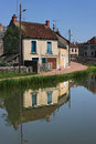 Canal of Nivernais Royalty Free Stock Photos
