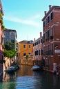 Canale a Venezia Fotografie Stock Libere da Diritti