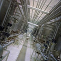 Canalisations industrielles Photos libres de droits