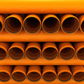 Canalization pipes Stock Photos