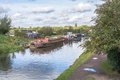 Canals of england Royalty Free Stock Images