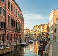 Canals of venice italy beautiful Royalty Free Stock Photos