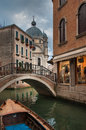 Canals of venice italy image Stock Images