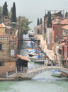 Canals venice italy one of the many of makes a great poster Stock Images