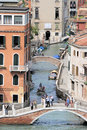 Canals venice italy one of the many of makes a great poster Royalty Free Stock Photography