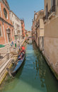 Canals of venice typical canal views in italy shot in summer Royalty Free Stock Photography
