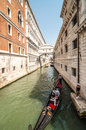 Canals of venice typical canal views in italy this shows s great architecture shot in summer Royalty Free Stock Photography