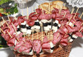 Canape. Сold collation Royalty Free Stock Photo