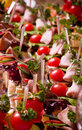 Canape for an event party Royalty Free Stock Image