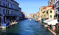 Canareggio canal a busy in the neighborhood of venice italy photo taken o a february Stock Photo