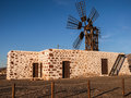 Canary Islands Windmill Stock Photography
