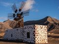 Canary Islands Windmill Royalty Free Stock Image