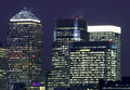 Canary wharf in london england Stock Photography