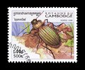 Beetles on postage stamps