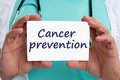 Cancer prevention screening check-up disease ill illness healthy Royalty Free Stock Photo