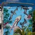Cancun, Mexico; 09 14 2018. Urban art