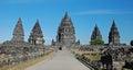 Candi Prambanan - Hindu temple compound - Java Royalty Free Stock Photo