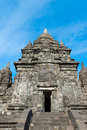 Candi Sewu Buddhist complex in Java, Indonesia Royalty Free Stock Photo