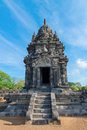 Candi Sewu Buddhist complex in Java, Indonesia Stock Photography
