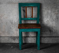 Candid vintage chair Royalty Free Stock Photo