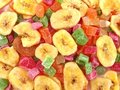 Candied fruits Stock Image